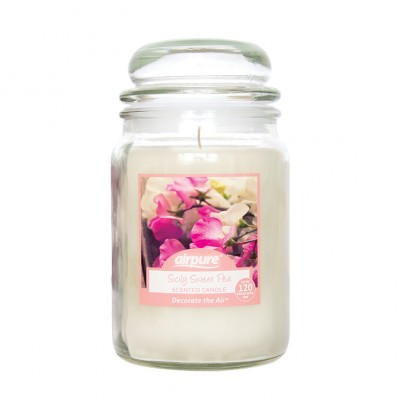 Airpure Sicily Sweet Pea Scented Candle 510 g