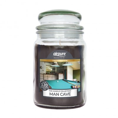 Airpure Man Cave Scented Candle 510 g
