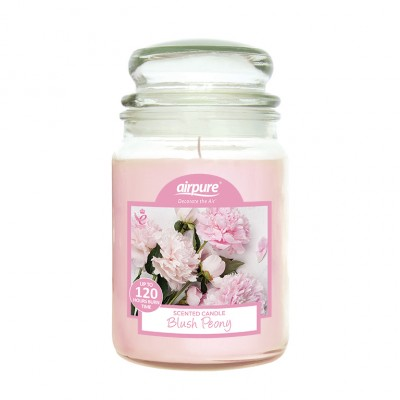 Airpure Blush Peony Scented Candle 510 g
