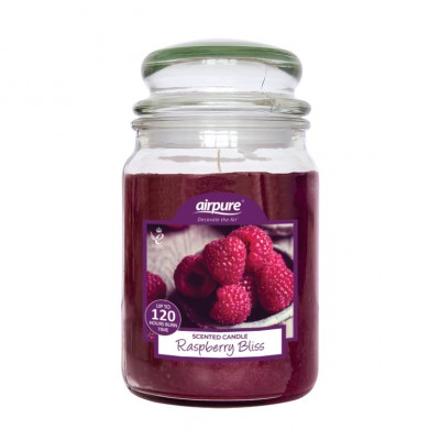Airpure Raspberry Bliss Scented Candle 510 g