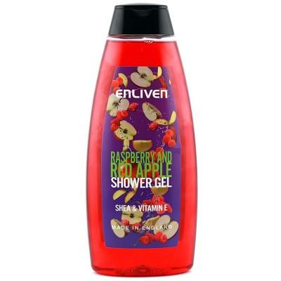 Enliven Fruit Shower Gel Raspberry & Apple 400 ml
