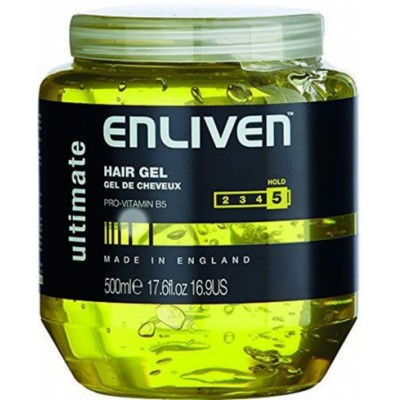 Enliven XL Hair Gel Ultimate Yellow 500 ml