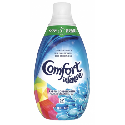 Comfort Intense Fresh Sky Fabric Conditioner 900 ml