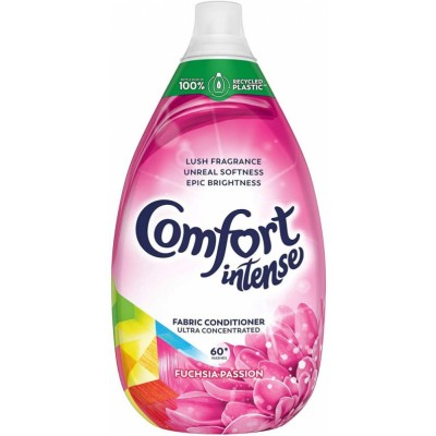 Comfort Intense Fuchsia Passion Fabric Conditioner 900 ml