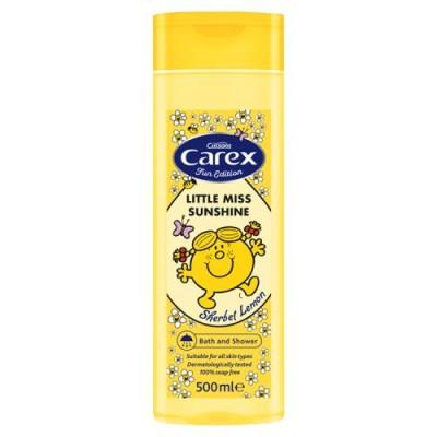 Carex Mr. Men Lemon Bath & Shower 500 ml