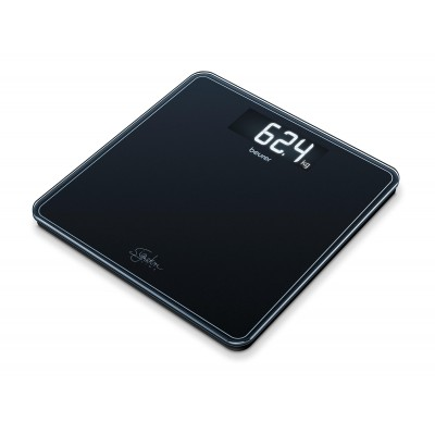 Beurer GS400 Glass Bathroom Scale Black 1 st