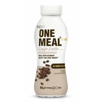 Nupo One Meal +Prime RTD Caffe Latte Happiness 330 ml
