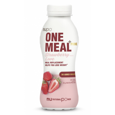 Nupo One Meal +Prime RTD Strawberry Love 330 ml