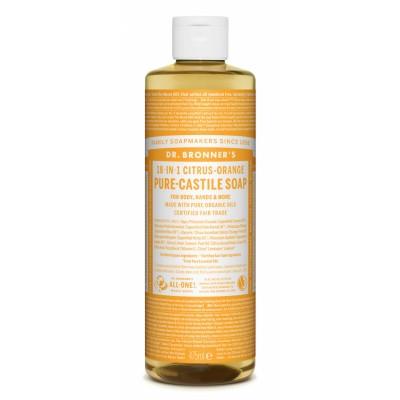 Dr. Bronner's Castile Soap Citrus Orange 475 ml