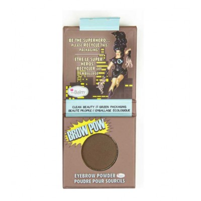 The Balm Green Beauty Brow Pow Eyebrow Powder Dark Brown 0,85 g