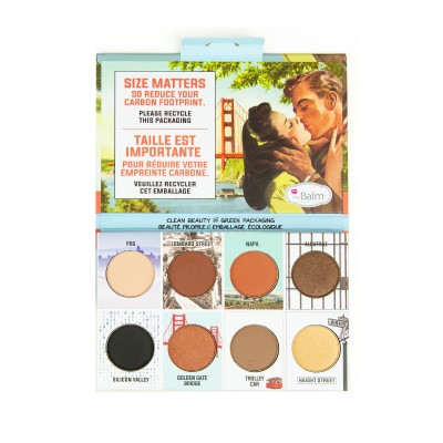 The Balm Thebalm And The Beautiful Episode 2 Eyeshadow Palette 10,5 g