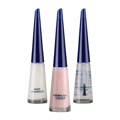 Herôme French Manicure Set Pink 3 x 10 ml