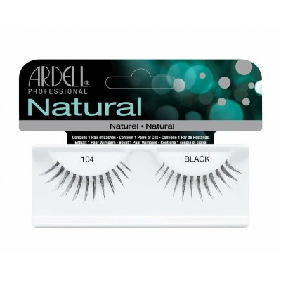 Ardell Natural Lashes Black 104 1 par