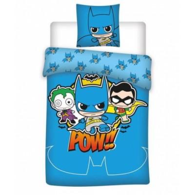 DC Comics Junior vuodevaatteet Batman 100 cm x 140 cm + 40 cm x 45 cm