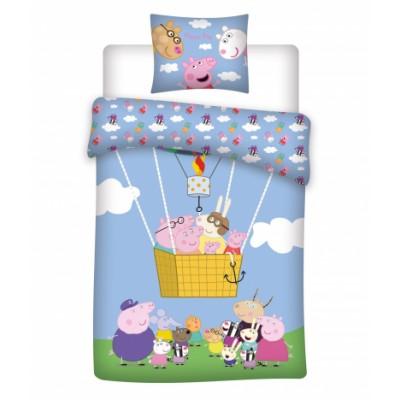 Peppa Pig Pipsa Possu Junior vuodevaatteet Suuri Perhe 100 cm x 140 cm + 40 cm x 45 cm