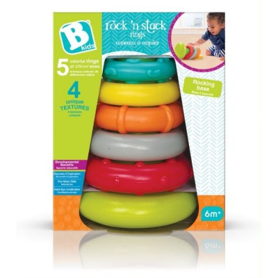 B Kids Stack Rings 6 kpl