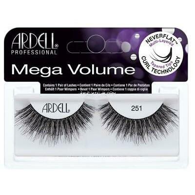 Ardell False Eyelashes Mega Volume Black 251 1 paar