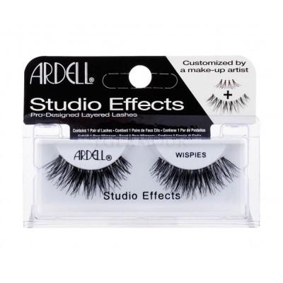 Ardell Studio Effects False Eyelashes Black Wispies 1 pari