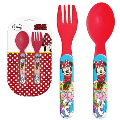Disney Bestickset Minnie Mouse 2 st