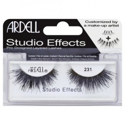 Ardell Studio Effects False Eyelahes Black 231 1 pari