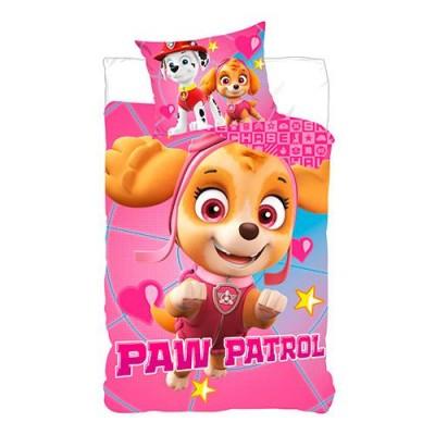 Nickelodeon Junior Sengetøj Paw Patrol Skye 100 cm x 140 cm + 40 cm x 45 cm
