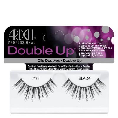 Ardell Double Up False Eyelashes Black 206 1 pari