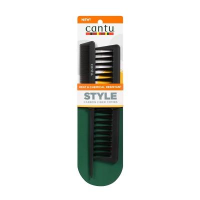 Cantu Carbon Heat Resistant Combs 2 kpl