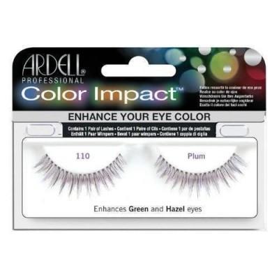 Ardell Color Impact False Eyelashes 110 Plum 1 par