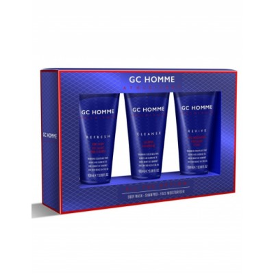 Grace Cole GC Homme All The Action Gift Set 3 x 100 ml