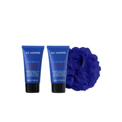 Grace Cole GC Homme Looking Good Gift Set 2 x 50 ml + 1 stk