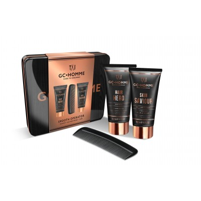 Grace Cole GC Homme Smooth Operator Kit 2 x 50 ml + 1 stk