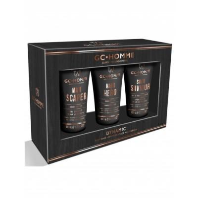 Grace Cole GC Homme Dynamic Gift Set 3 x 100 ml