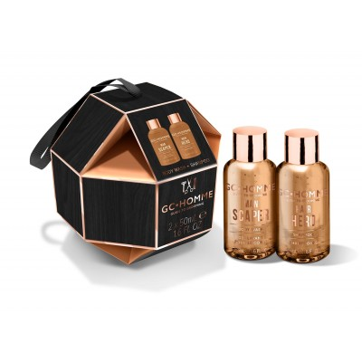 Grace Cole GC Homme Decadent Duo Gift Set 2 x 50 ml