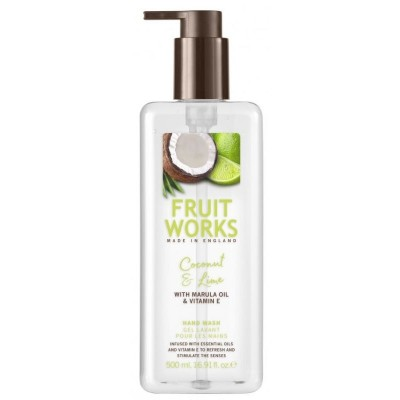 Fruit Works Coconut & Lime Hand Wash 500 ml