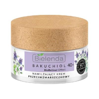 Bielenda Bakuchiol Bioretinol Effect Moisturizing Antiwrinkle Face Cream 40+ 50 ml