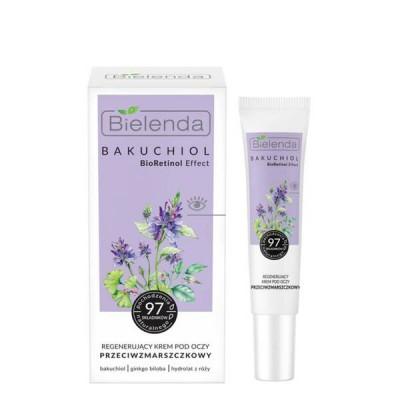 Bielenda Bakuchiol Bioretinol Effect Regenerating Antiwrinkle Eye Cream 15 ml