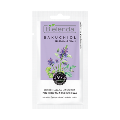 Bielenda Bakuchiol Bioretinol Effect Firming Antiwrinkle Face Mask 8 g
