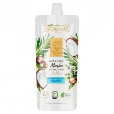 Bielenda 100% Pure Vegan Hair Mask For Damaged Hair 125 ml