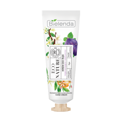 Bielenda Eco Nature Vanilla Milk & Fig & Orange Flower Hand Cream 50 ml