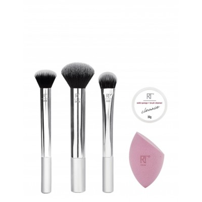 Real Techniques Shimmer Essentials Brush Set 5 stk