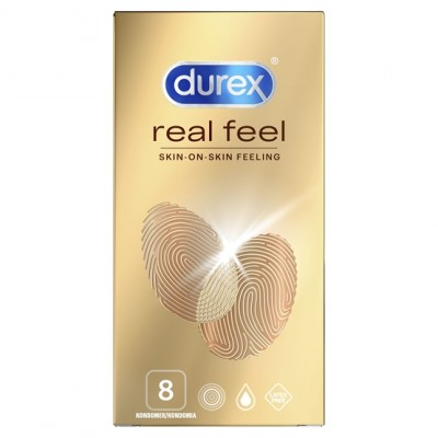 Durex Real Feel 8 kpl