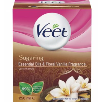 Veet Sugaring Essential Oils & Vanilla 250 ml