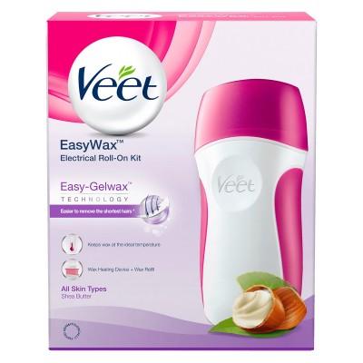 Veet Easy-Wax Electrical Roll-On Starter Kit 1 stk + 50 ml