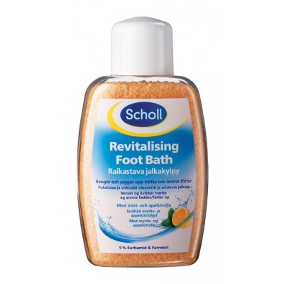 Scholl Revitalising Foot Bath 275 g