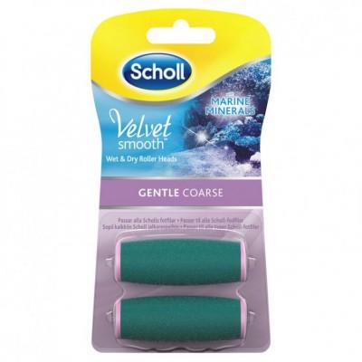 Scholl Velvet Smooth Diamond Wet & Dry Refill Gentle Coarse 2 st