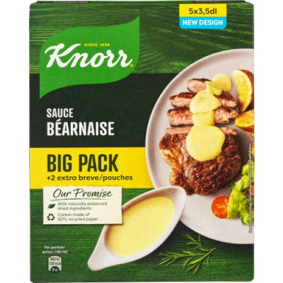 Knorr Bearnaisesauce 5 x 3,5 dl