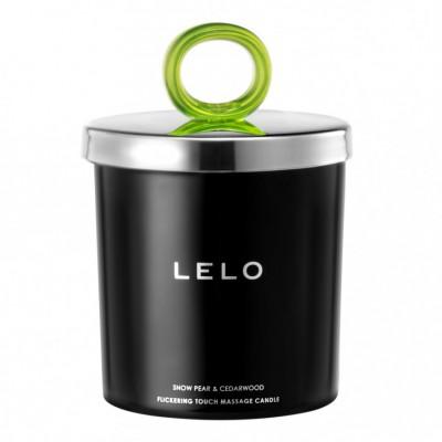 Lelo Massage Candle Snow Pear & Cedarwood 150 g