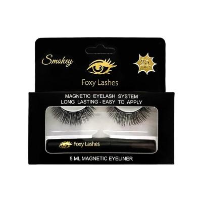 Foxy Lashes Magnetic Eyelash System Smokey 1 par