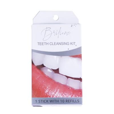 Brilianz Teeth Cleansing Kit 1 stk + 10 stk