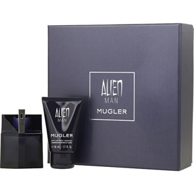 Thierry Mugler Alien Man Refillable EDT & Showergel 50 ml + 50 ml